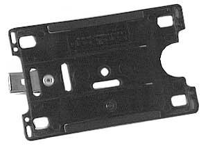 Korthållare med clips