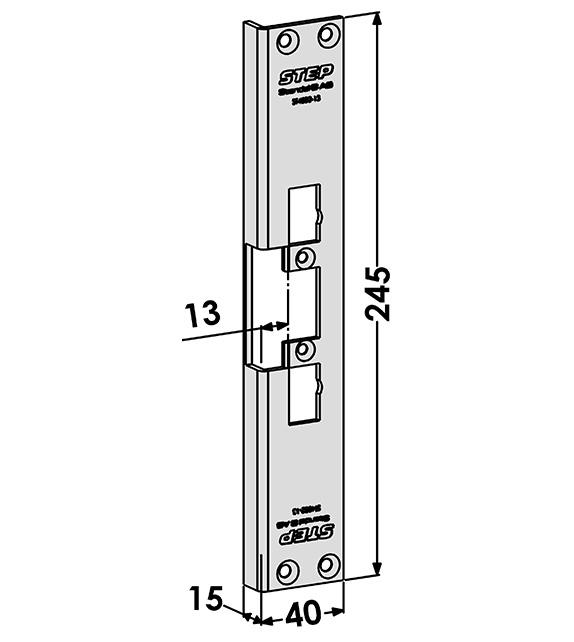 Step montagestolpe ST4002-13