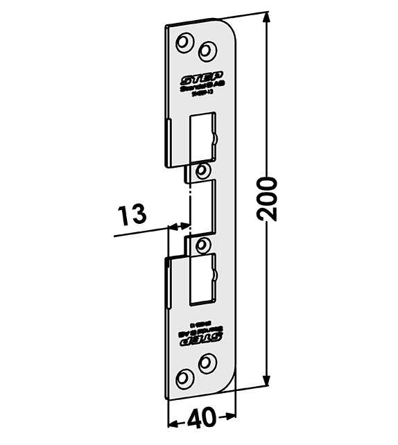 Step montagestolpe ST4009-13