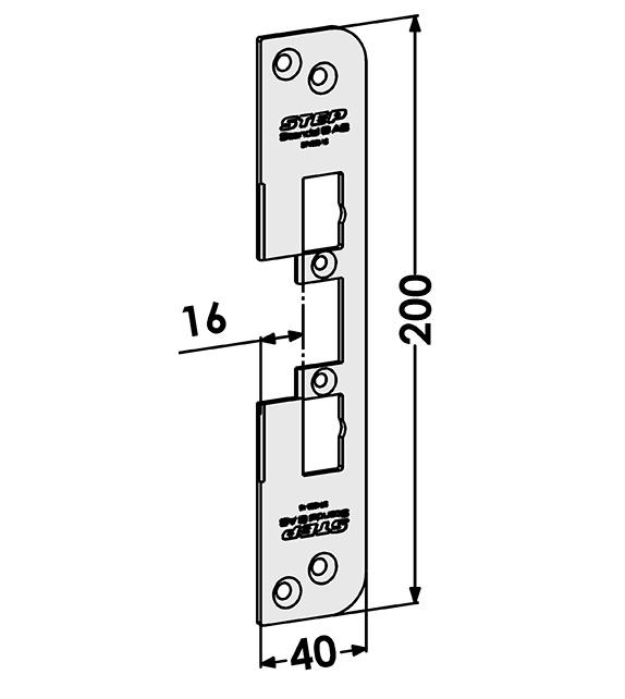 Step montagestolpe ST4009-16