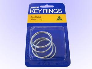 Nyckelring 38mm 5-pack