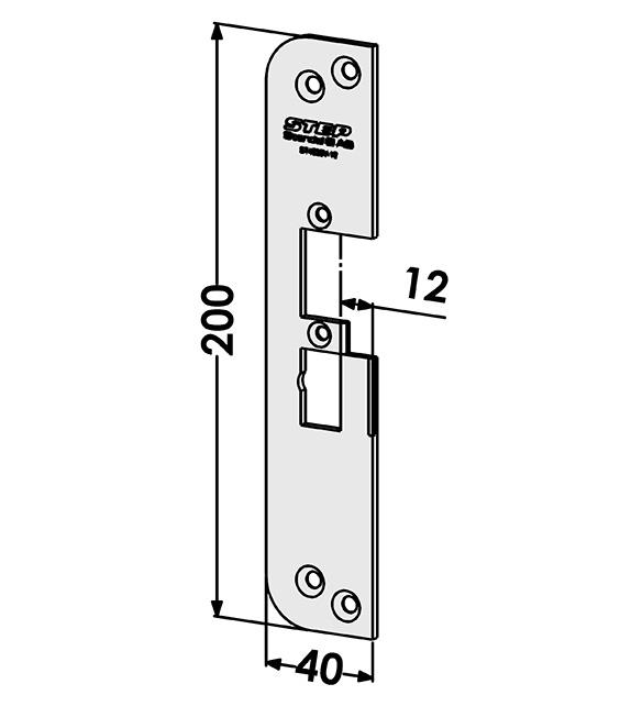 Step montagestolpe ST4030-12