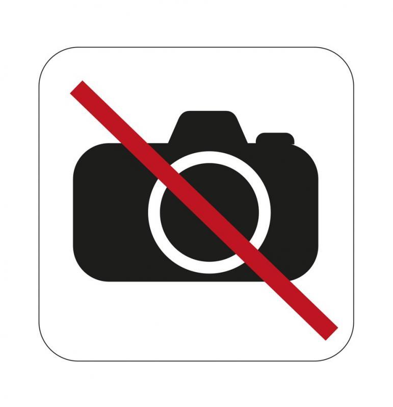 Dekal skylt, Fotoförbud 80x80mm  självhäftande