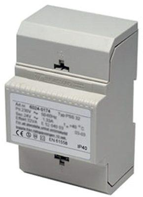 Transformator stabiliserad 24VDC 1A