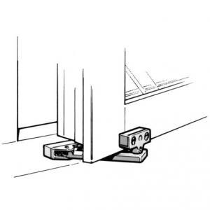 Assa 92 Ventilationsbeslag, inåtgående