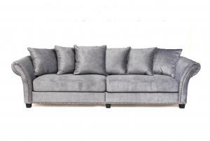 Atlanta 4-sits soffa | Light Grey