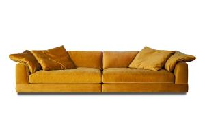 Infinity 4-sits soffa | Lion Yellow