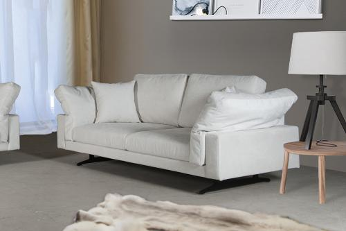 San Francisco 2-sits soffa | White