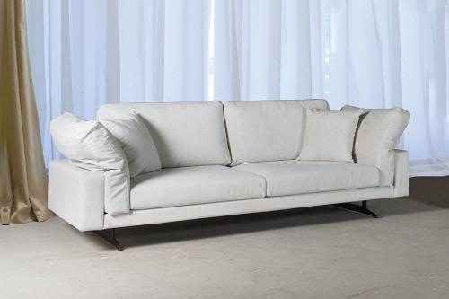 San Francisco 3-sits soffa | White