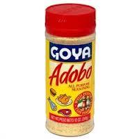 """ADOBO  GOYA""""CON PIMIENTA"""""""