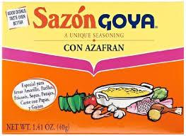 """SAZON GOYA """"AZAFRAN"""""""