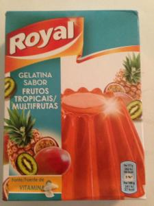 "GELATINA ROYAL ""FRUTAS TROPICALES"""