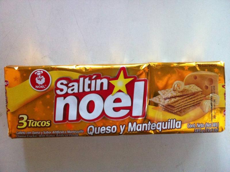 SALTIN QUESO Y  MANTEQUILLA