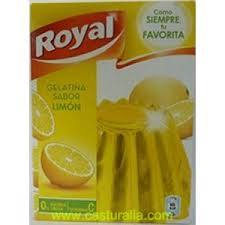 "GELATINA ROYAL ""LIMON"""