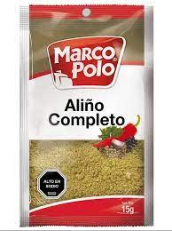 """Aliño Completo """" Marco Polo"""""""