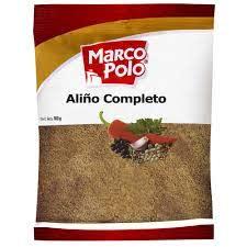 """Aliño Completo """" Marco Polo"""" x 1 kilo"""