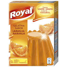 "GELATINA ROYAL ""NARANJA"""
