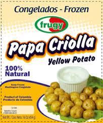 PAPA CRIOLLA  (Especial)