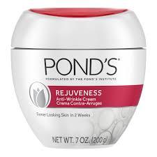 "POND`S ""REJUVENESS""- Anti arrugas."