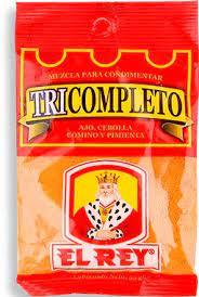 """Tricompleto """"el REY"""""""