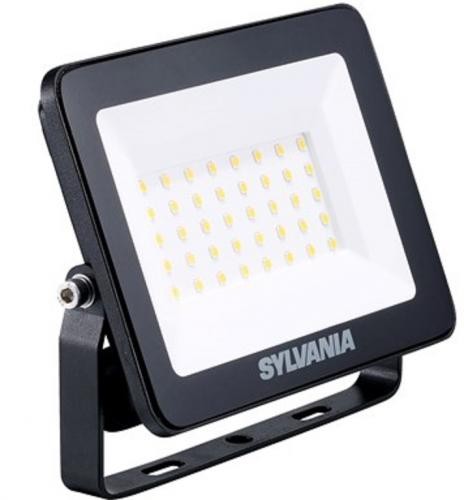 1st SYLVANIA START LED 30W/830 3000K 2800lm eco Flood Flat IP65  Min.Leverans:6st