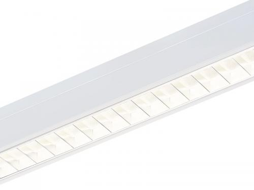 SYLVANIA Rana Linear DALI/Switch-Dim LED 25W/830 3000K 3138lm Alu optiska + vit prisma IP20 IK07 vit
