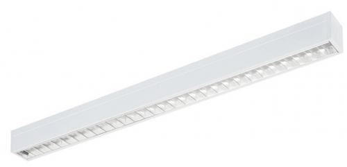 SYLVANIA Rana Linear DALI/Switch-Dim LED 25W/840 4000K 3186lm Alu optiska + vit prisma IP20 IK07 vit