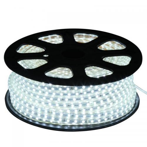 50m LED-stripe light 5050 220Vac 14,4W/m IP65 Vit