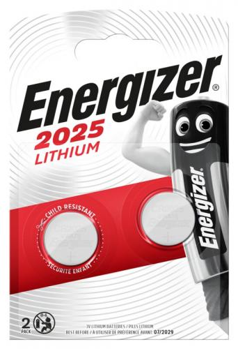 2 x Energizer Mini Litiumbatteri CR2025
