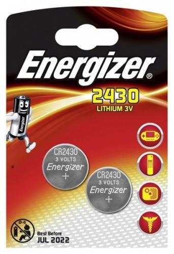 2 x Mini Litiumbatteri Energizer CR2430