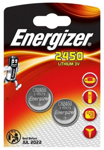 2 x Mini Litiumbatteri Energizer CR2450