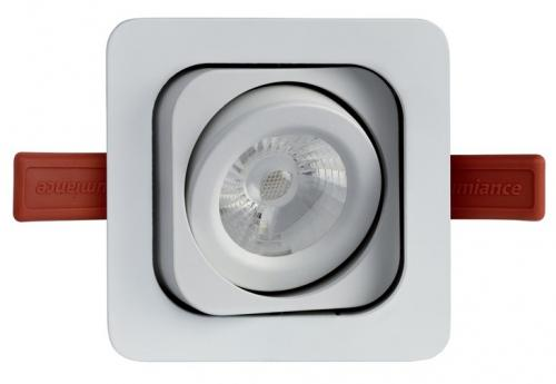 Lumiance MOTTO TREND Mono LED 7W/840 4000K 434lm 36°IP23 Klass III Vit