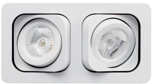 Lumiance MOTTO TREND Duo LED 14W/830 3000K 848lm IP23 Klass III 36° Vit