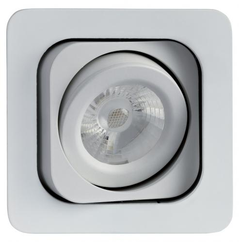 Lumiance MOTTO TREND Mono LED 7W/840 4000K 390lm 36°IP23 Klass III Vit