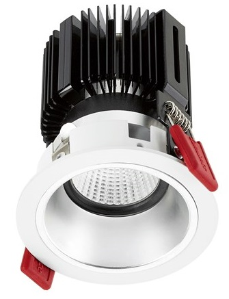 Lumiance Stello Comfort LED 13W/840 4000K 730lm 40° IP44 Vit