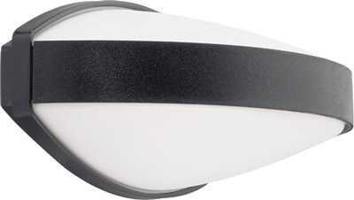 Lumiance Giotto Oval 13W G24d-1 IP44 Svart
