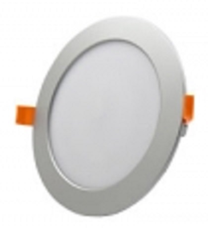 "LED-Panel Dimbar ""rund"" Inf. 12W/840 4000K 960lm 230V IP20 Silver Min.Leverans:4st"