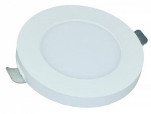 "LED-Panel ""rund"" upl. 6W/840 4000K 480lm 230V IP20 Vit"