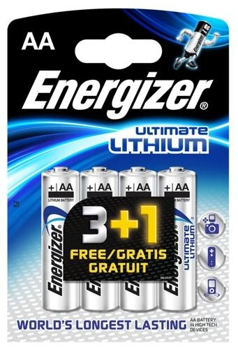 Energizer L91 Ultimate Lithium R6 AA  Min.Leverans:5st