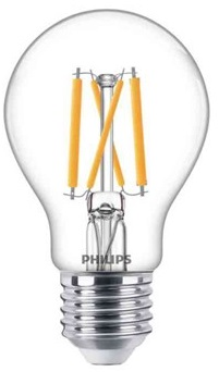 ¤10st Classic LED Filament, Normalform, Philips FILAMLED DT 7-60W E27 A60 CL