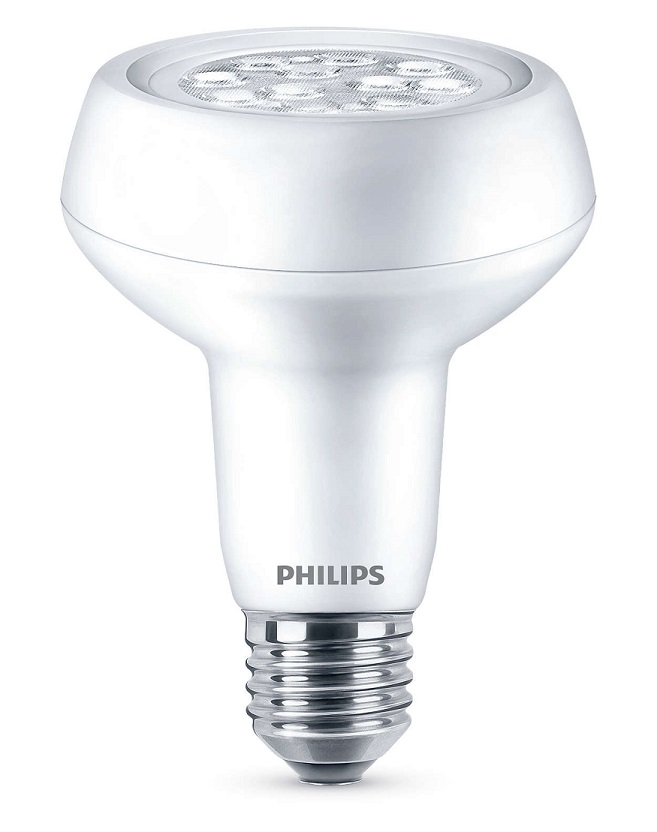 Philips Led Reflektorlampa R80 7w E27 40d Ww 220 240v