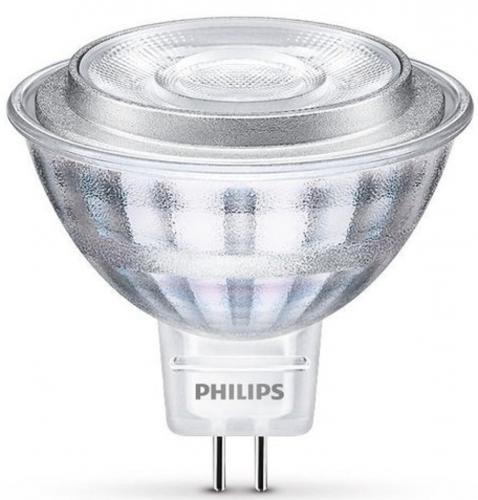 4st Philips LED 8W(50) MR16 2700K 621lm 36D Min.Leverans:4st