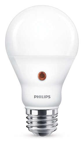 Philips LED Standardlampa  7, 5 W (60 W), E27, Varmvit, Ej dimbar