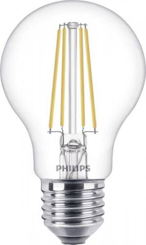 Philips LED Filament 7W (60) 2700K 806lm E27 Min.Leverans:4st