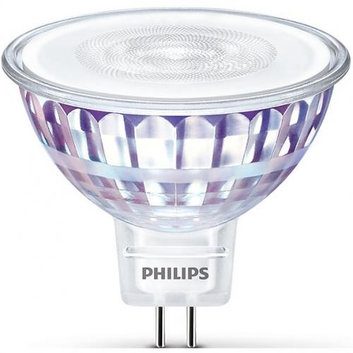 4st Philips LED MR16  7W (50) 4000K 660lm GU5.3 36D Min.Leverans:4st