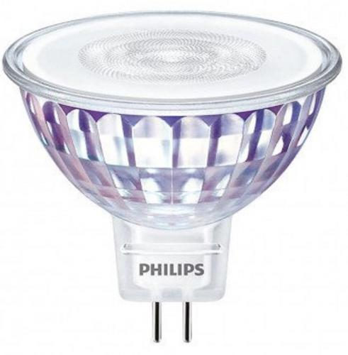 Philips DIM LED GU5.3 MR16 5W 822 - 827 2200 - 2700K 345lm 36D (MASTER) Min.Leverans:2st
