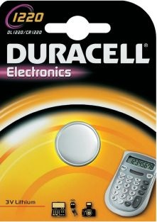 Duracell CR1220 DL1220 ECR1220