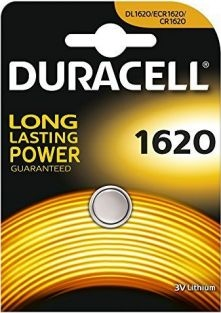 Duracell litium batteri mini CR1620, DL1620, ECR1620