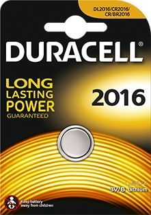 Duracell litium batteri mini CR2016 DL2016 ECR2016