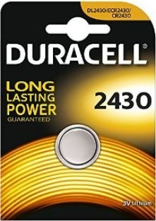 Duracell litium batteri mini Duracell CR2430 DL2430 ECR2430